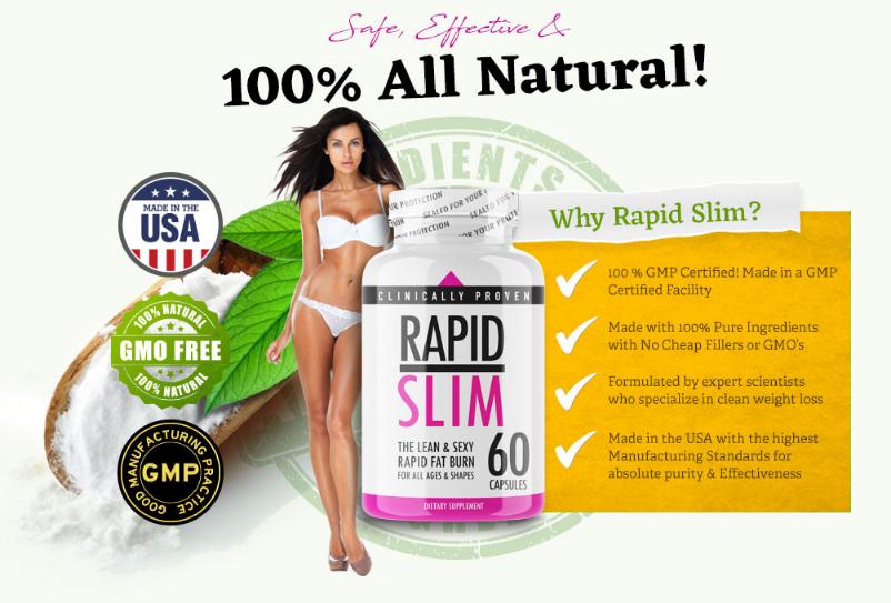 Rapid Slim Ingredients