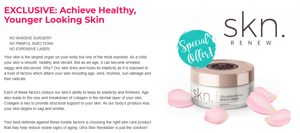 skn renew cream reviews