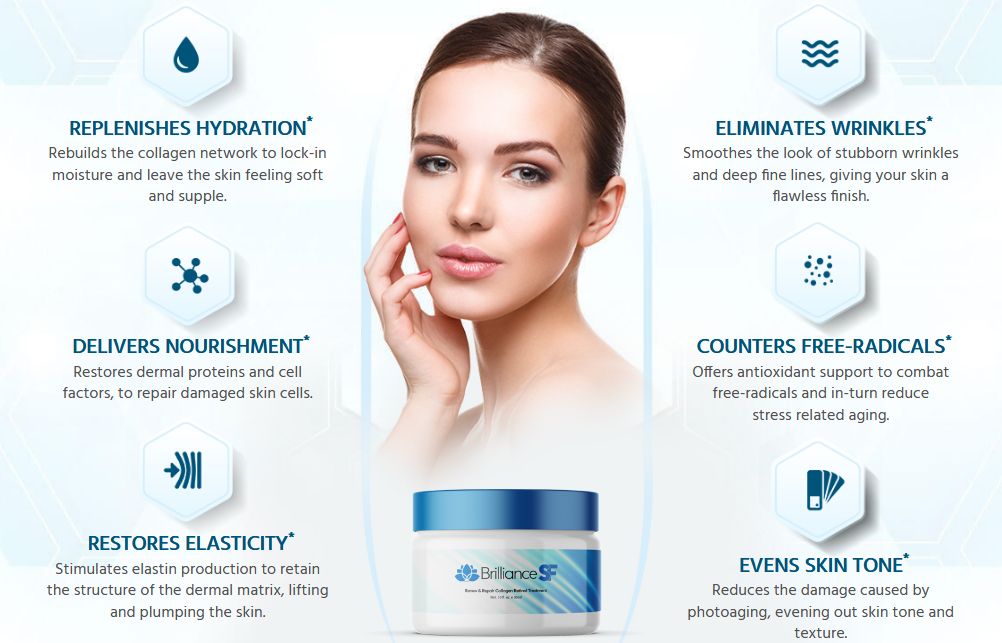 Brilliance SF Skin Care benefits