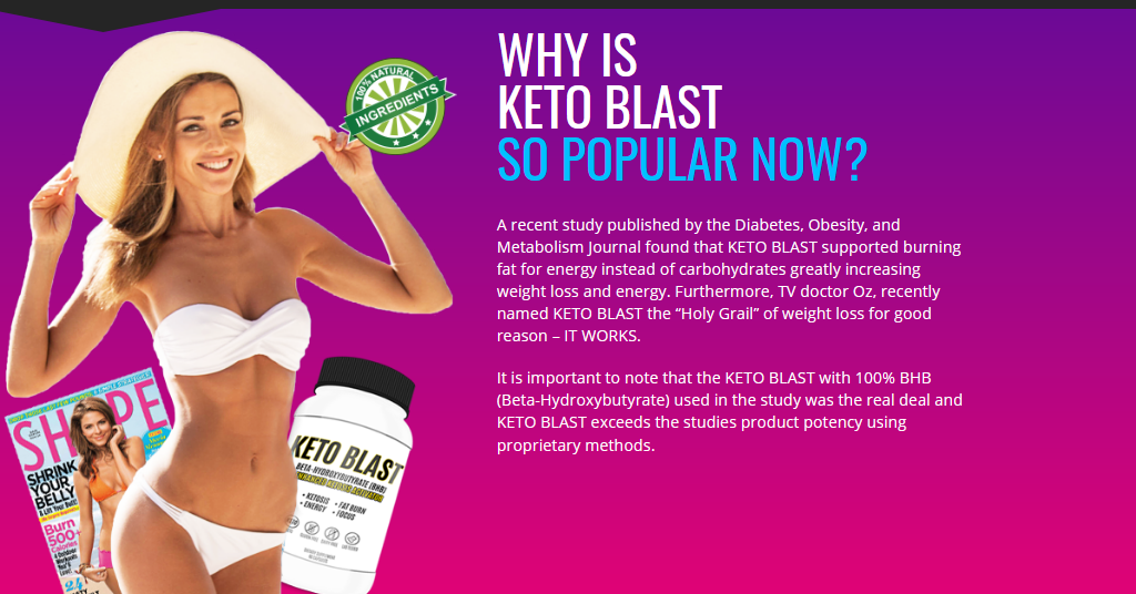 Keto Blast Diet Works