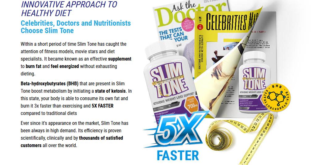 Slim tone Keto Diet
