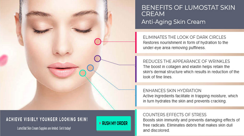 LumoStat Skin Cream working process
