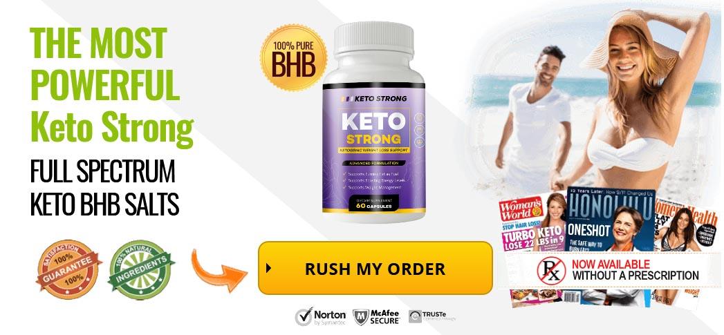 Keto Strong BHB Pills